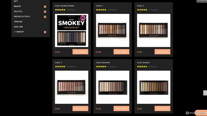 Makeup revolution официальный сайт отзывы