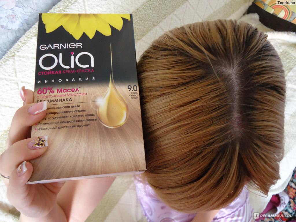 Краска для волос гарньер олия палитра цветов