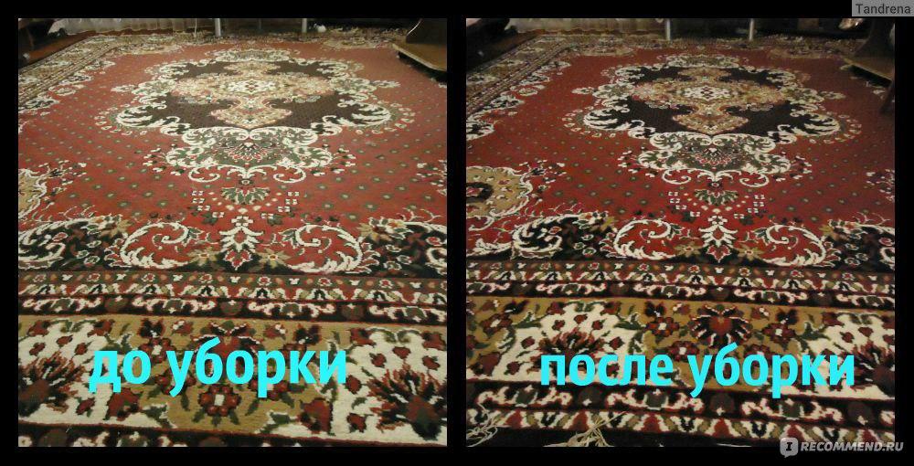 Чем вымыть ковёр в домашних условиях