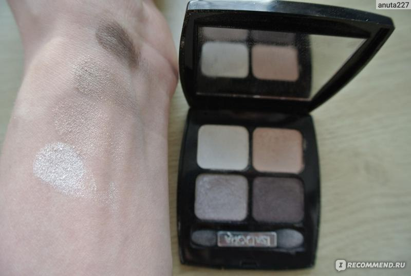 isadora eyeshadow quartet 35 pearls