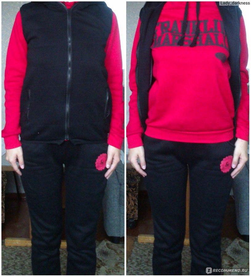 d0b11094a501 Спортивный костюм AliExpress Women Autumn   winter fashion sweatshirt  hoodie set фото