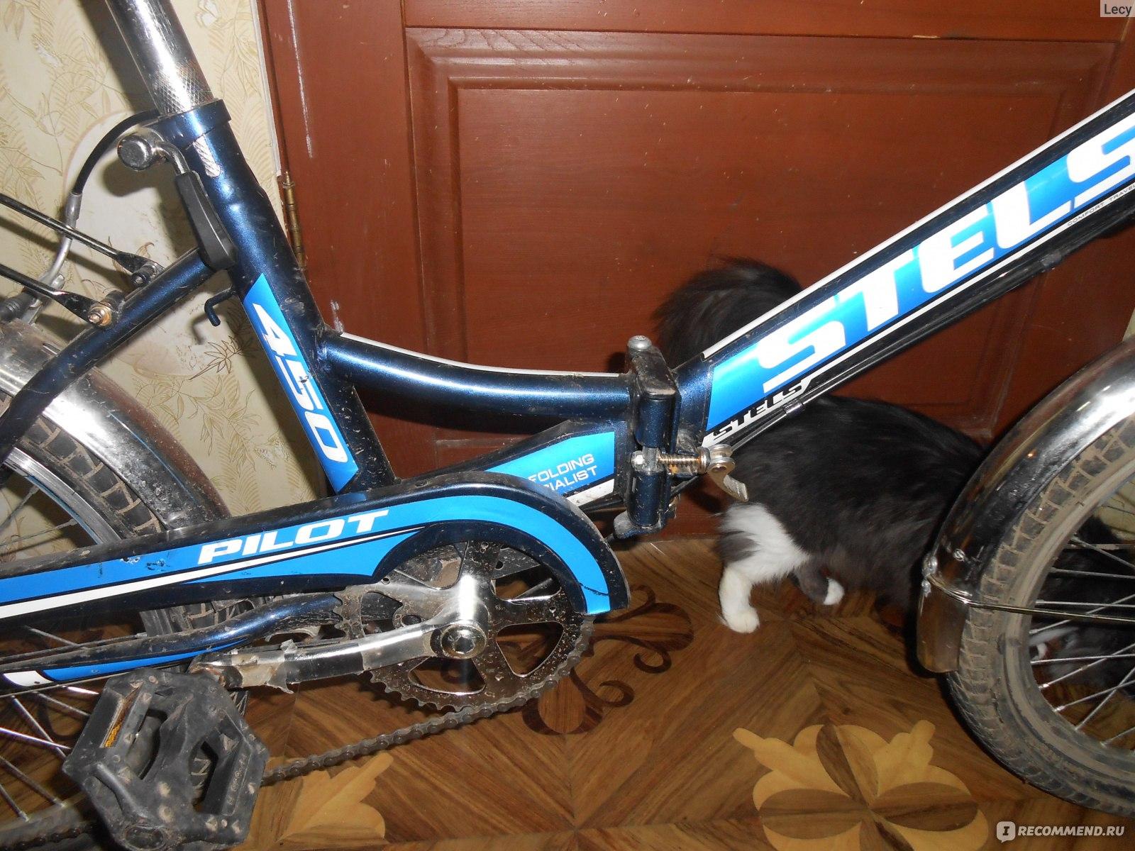 Folding bike Stels Pilot 450