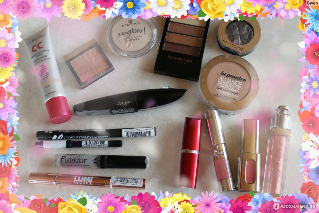 Что нужно иметь для основного макияжа