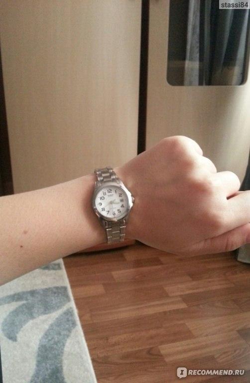 часы женские Casio Collection Ltp 1259pd 7b Ltp 1259pd 7ber
