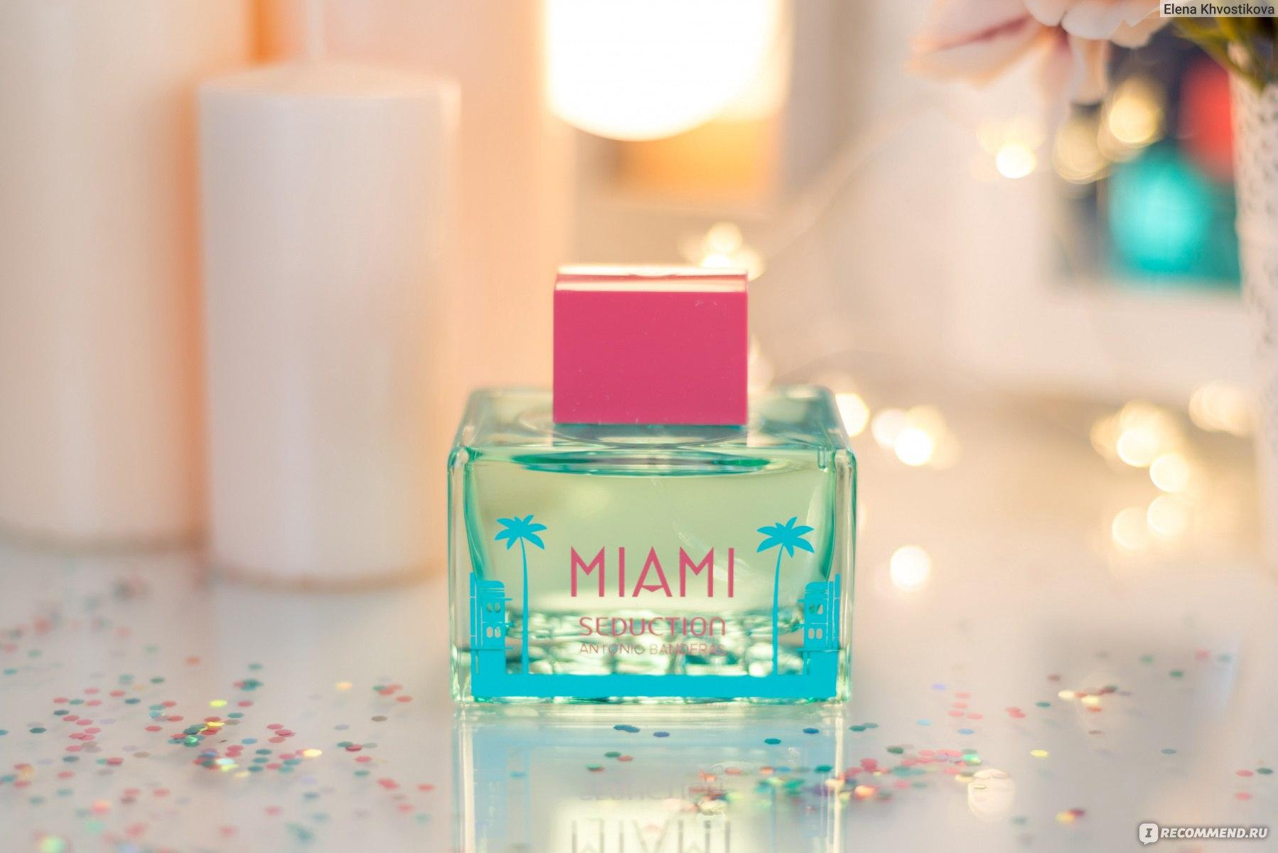 Antonio Banderas Miami Seduction - «Яркий, фруктовый, пробуждающий ...