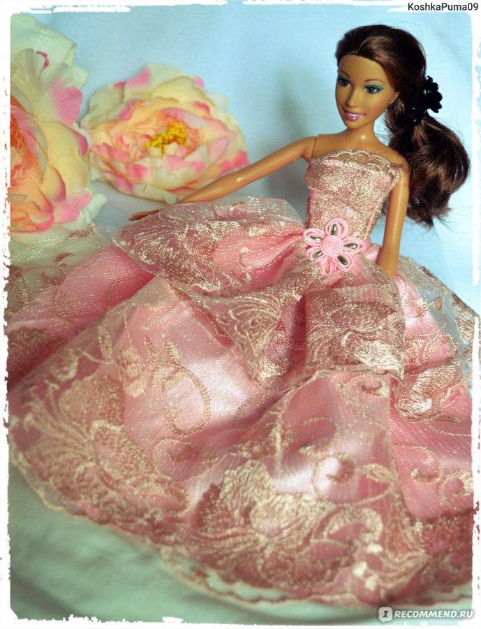 Как сшить на барби свадебное платье