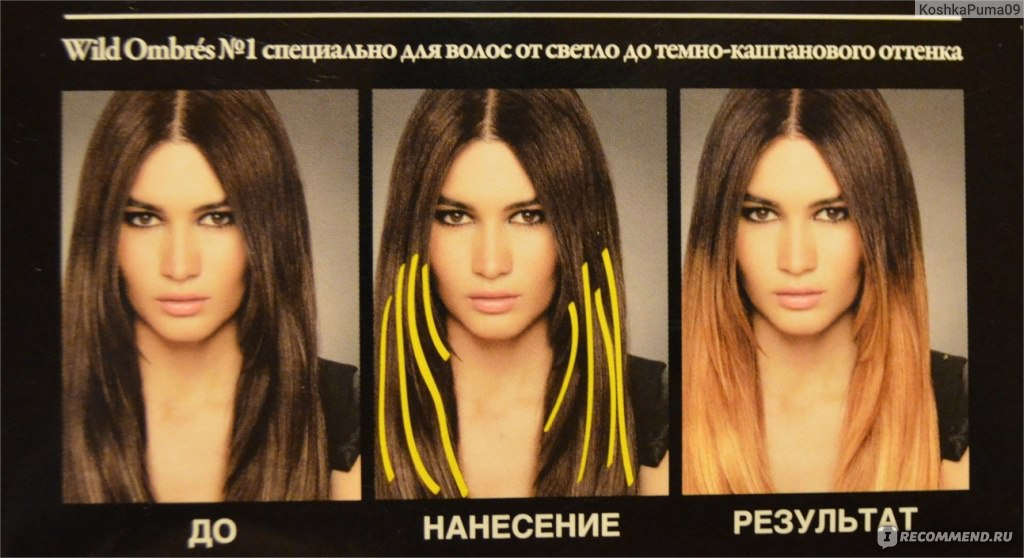 Как сделать насыщенным цвет волос