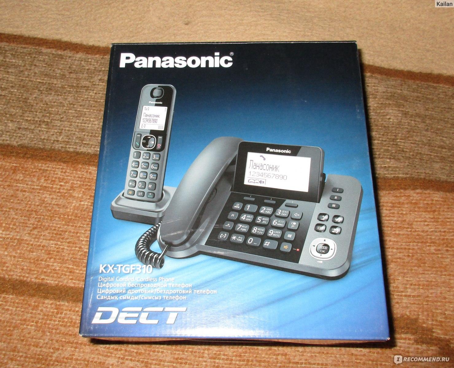 Инструкция телефона panasonic kx tc1461lab