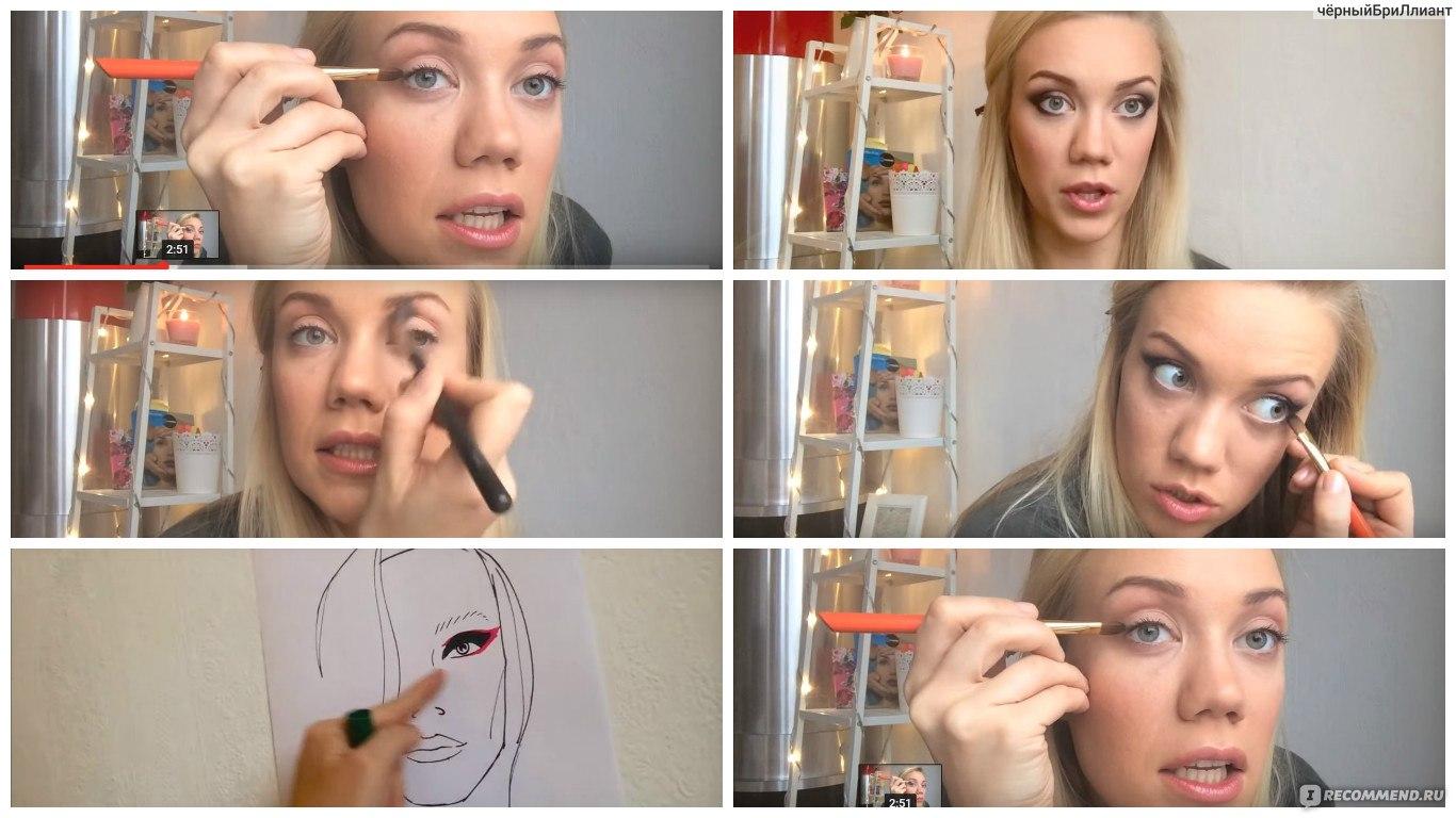 Видеоуроки по макияжу от елены крыгиной