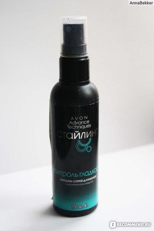 Лосьон-спрей для волос контроль гладкости эйвон отзывы