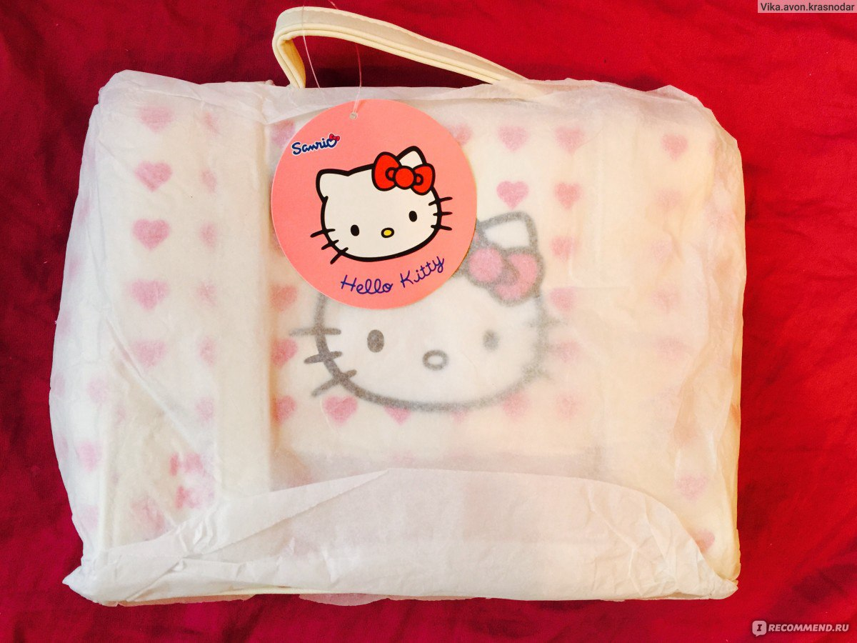 4dd47dcab469 Детская сумка Avon Hello Kitty - «Почему я не малышка?)) +МНОГО ФОТО ...