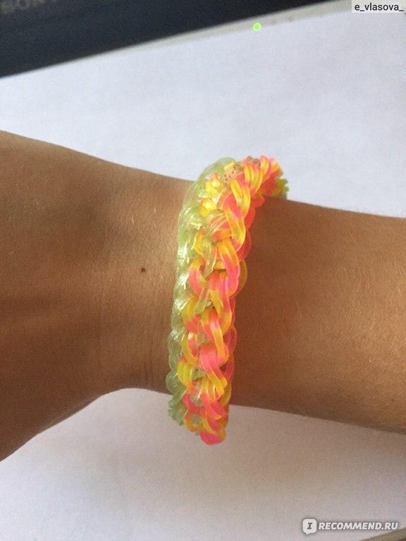 Набор для творчества DIY Резиночки для плетения Сумочка Бантик