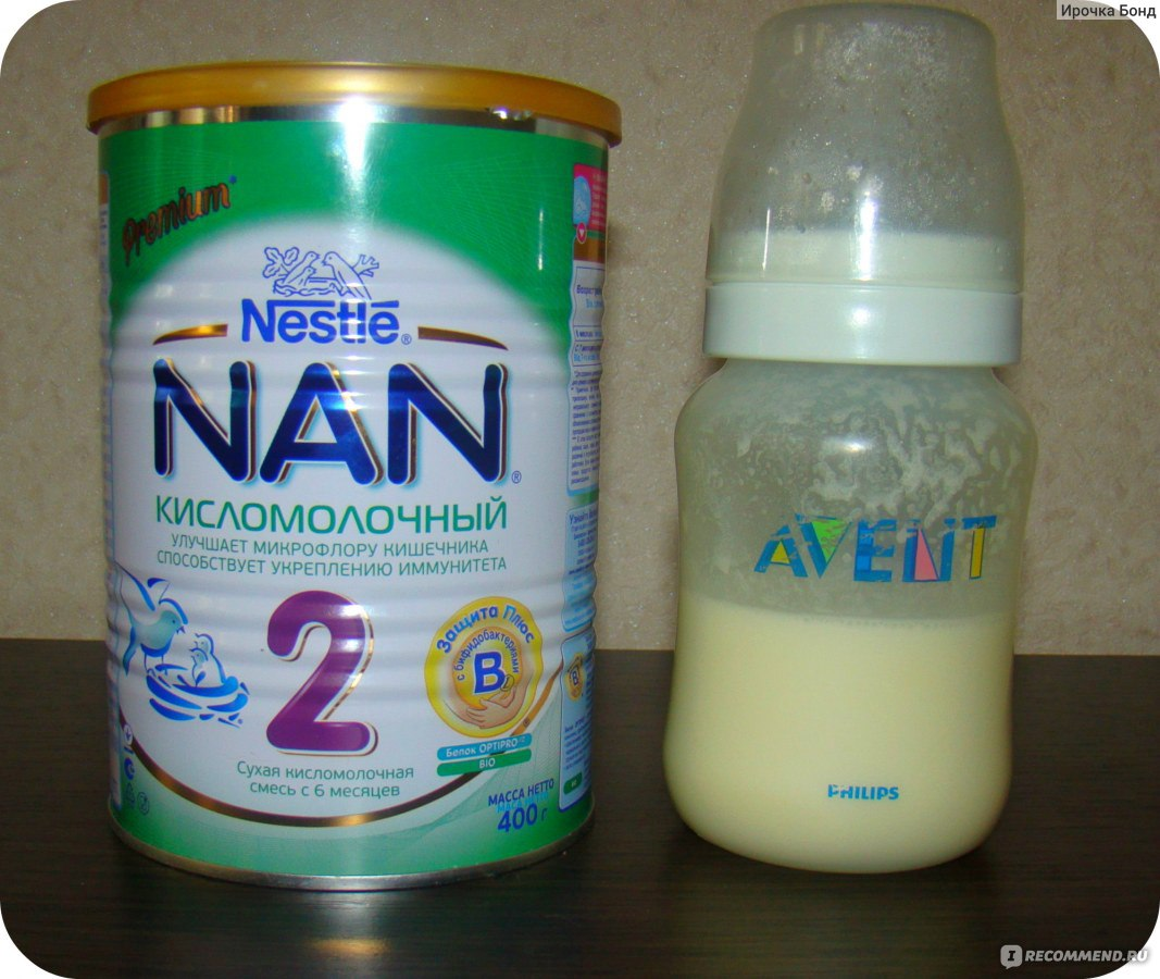 Как сделать кисломолочную смесь 571