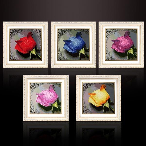 Алмазная вышивка алиэкспресс розы