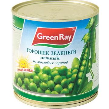 c5b6f11c340 Горошек зеленый консервированный Green Ray Нежный из мозговых сортов -  отзывы