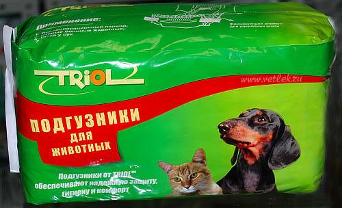 Триол Подгузники для собак XXL, 10шт - Забери Сам!
