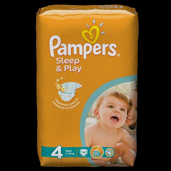 bd2c8ae41ef5 Подгузники Pampers Sleep   Play - отзывы