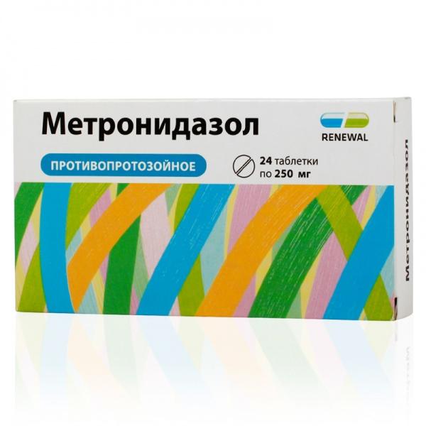 Применение метронидазола при вагинальном дисбактериозе