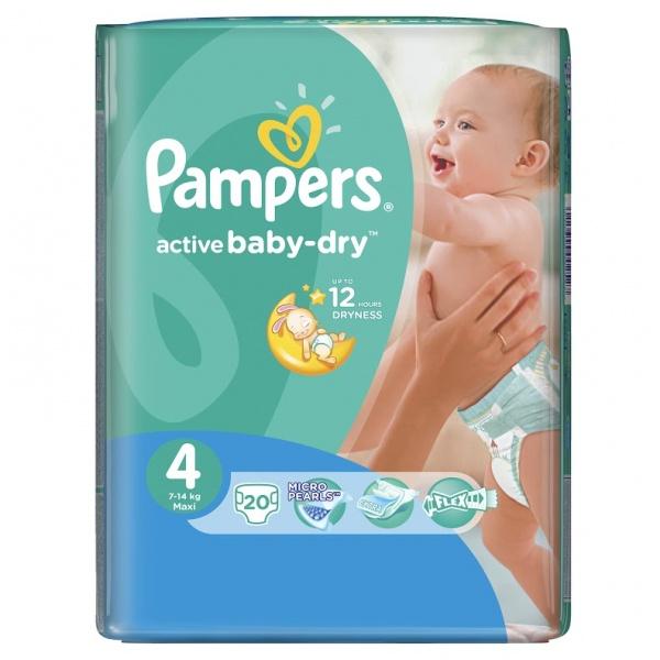 Подгузники Pampers active baby-dry (актив бэби) - «♥♥♥ Видимая ... 353b67cda05