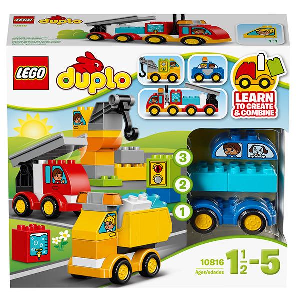 Конструктор LEGO Duplo 10816 Мои первые машинки - отзывы
