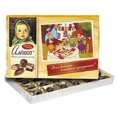 конфеты алёнка фото