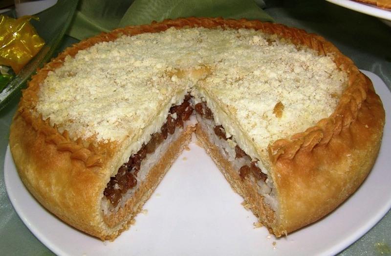 Просто пирог с персиками рецепт с фото