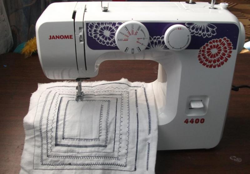 инструкция janome 4400