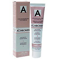 крем отбеливающий ален мак ахромин отзывы