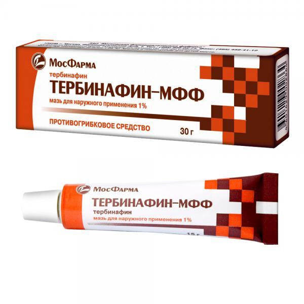 Тербинафин крем от грибка ногтей отзывы