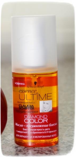 Schwarzkopf масло для волос essence ultime