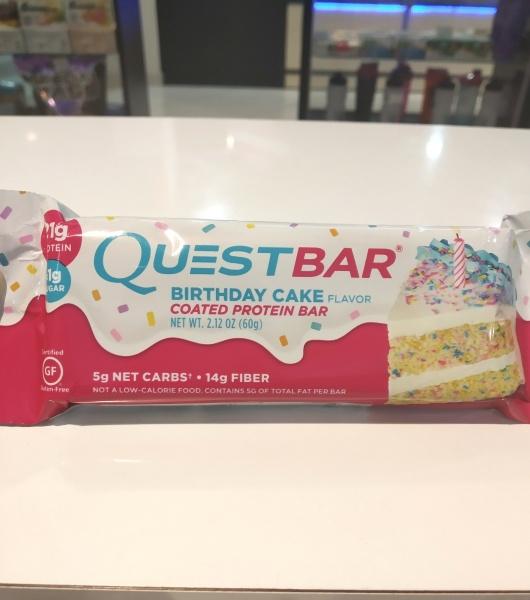 QuestBar Birthday Cake