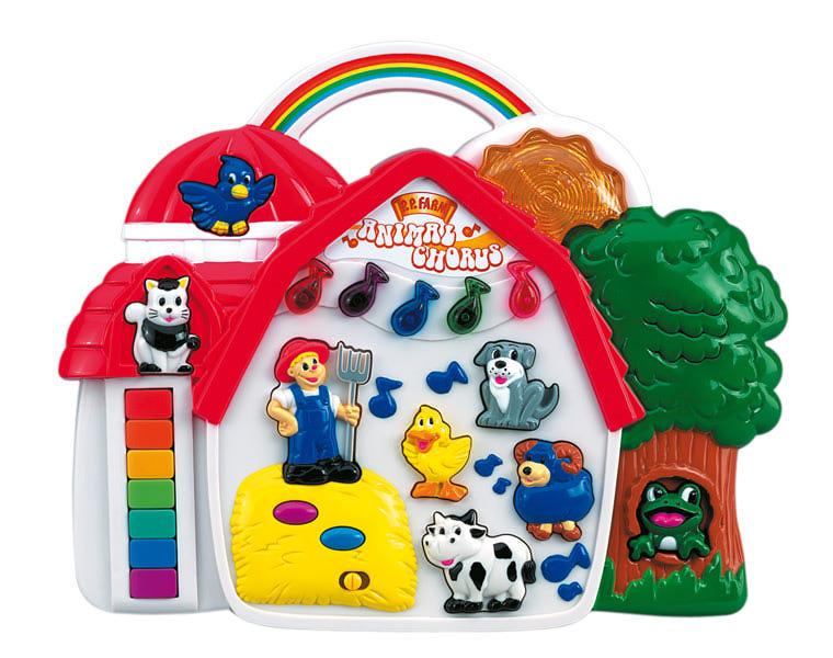 Музыкальная игрушка ферма