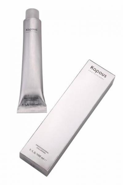 Профессиональная крем-краска для волос, оттенок 6.1 темно-русый пепельный, 100 мл (Hair Company Professional)