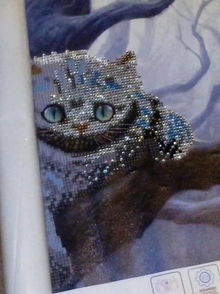 Алмазная вышивка алиэкспресс кот