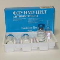 Флуимуцил-антибиотик Ит Для Ингаляций Инструкция Отзывы - фото 3