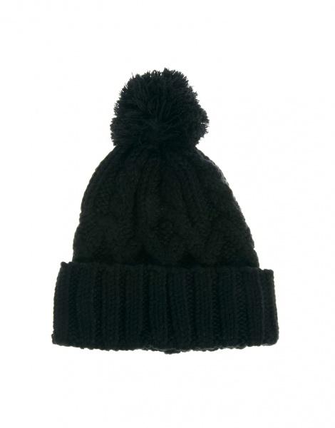 шапка Asos вязаная шапка бини с помпоном Cable Pom Beanie отзывы