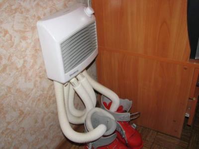 Сушилка фен для обуви своими руками