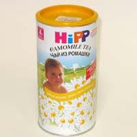 Детский чай из ромашки hipp в гранулах, 200 г   купить в интернет.