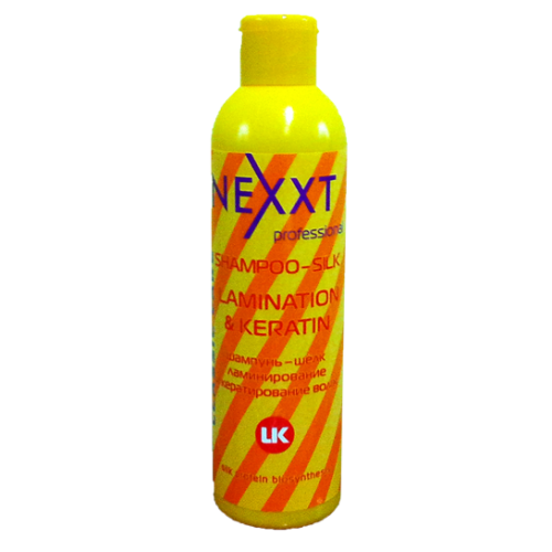 Шампунь-шелк ламинирование и кератирование волос nexxt