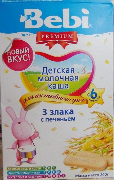 детская молочная каша