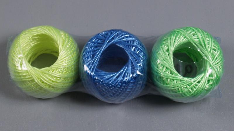 Вязание из капроновой веревки
