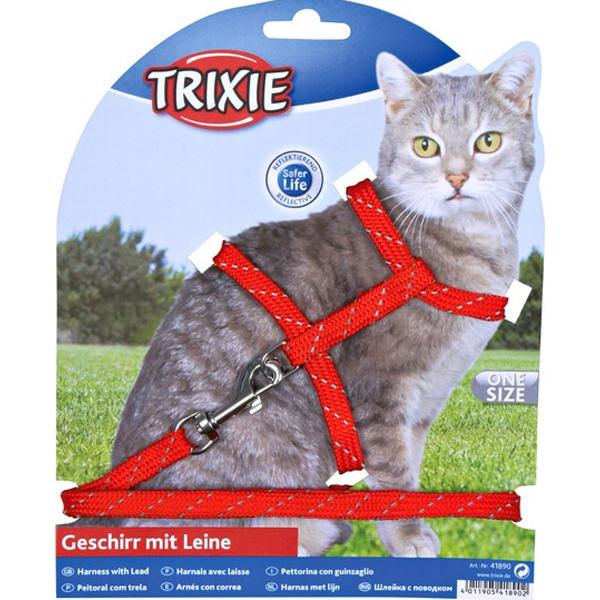 Шлейка для кота фото
