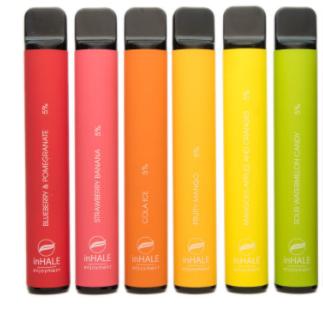 Inhale одноразовая электронная сигарета заказать сигареты в крыму