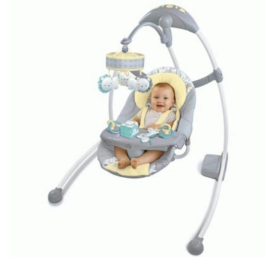 электрическая качалка для новорожденных фото