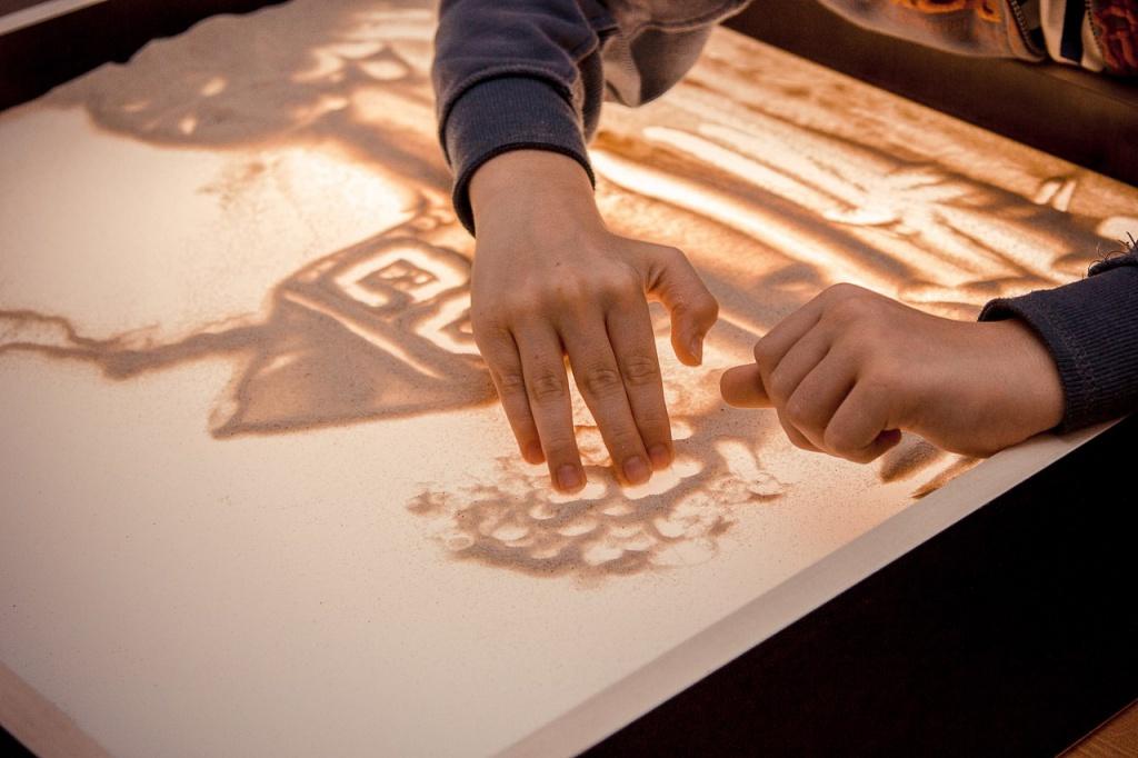 Картинки для работы с песком