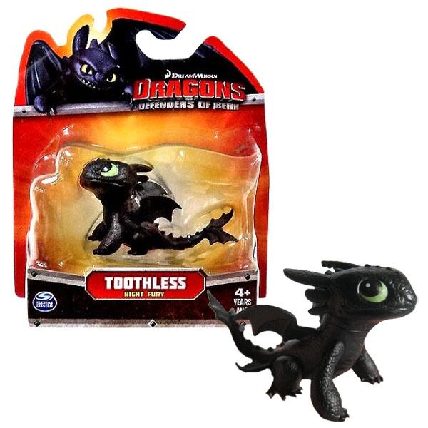 Spin Master «DreamWorks » маленькая фигурка дракона Ночная Фурия - Беззубик  фото bf2eed535d17d