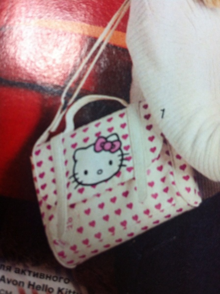 ae8898f446d1 Детская сумка Avon Hello Kitty | Отзывы покупателей