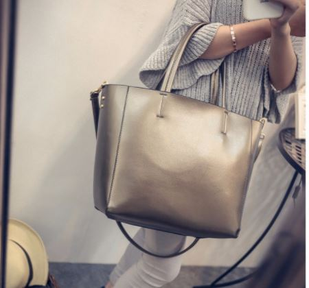 Сумка Aliexpress Bolsas Silver Luxury Famous Brand Women Messenger Bags  Handbags Women Famous Brands Gold Women Leather Handbags Sac A Main Tote -  отзывы 0fa4139251