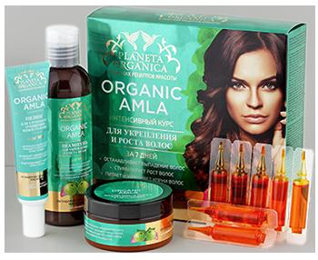 888cd49c7d58d Набор средств Planeta Organica Organic Amla интенсивный курс для укрепления  и роста волос - отзывы