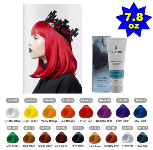 Яркие цвета краска для волос